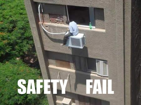There is a better way. We promise. 🤦‍♂️ __________ #pexuniverse #airconditioning #safety#hackjobs #fails #plumbing #plumbingpros #electricalpro #pex #lifehacks #solutions #homeimprovement #building #unpopular #poorwork #plumbingsolutions #tradesman #onthejob #creative #problems #stupid #dangerous #installation #perserverance #sad#plumblife