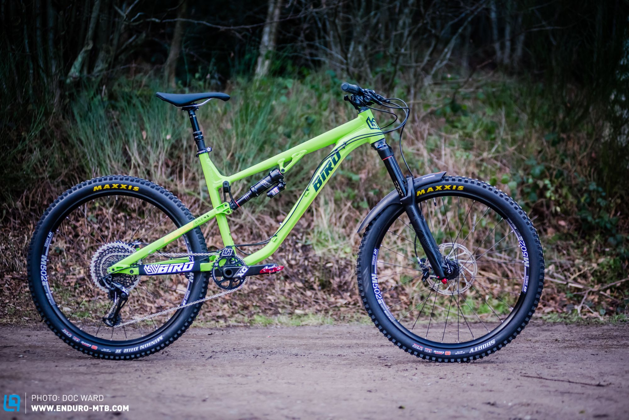 Exclusive First Ride The New Bird Aeris 145 Enduro Mtb Riding