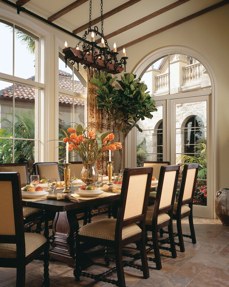 Formal dining room design ideas  The Best Of Both Worlds  Traditional dining rooms Interiors and