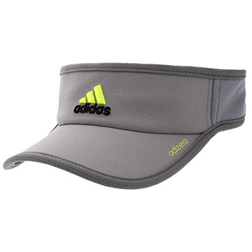 280a0ab5 adidas Mens Adizero Ii Visor GreyOnixSemi Solar Slime One Size *** You can  get additional details at the image link.