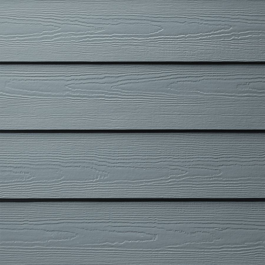 James Hardie Hardieplank Primed Boothbay Blue Cedarmill Lap Fiber Cement Siding Panel Actual 0 312 In X James Hardie Siding Colors Hardie Plank Cement Siding
