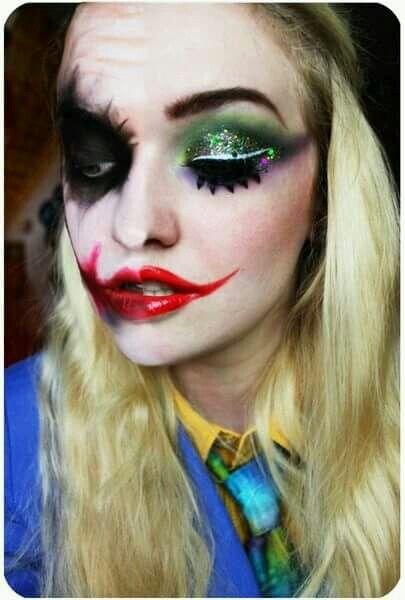 Joker Makeup Halloween Helloween Pinterest Halloween