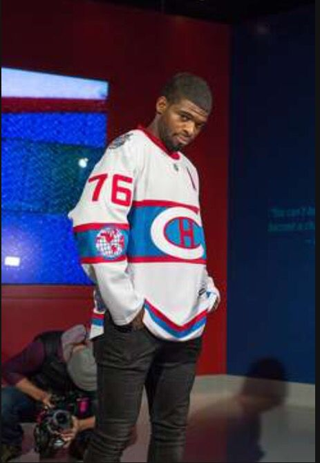 new style be3a5 02d5a P.K Subban Models the 2016 Winter Classic Jersey | Montreal ...