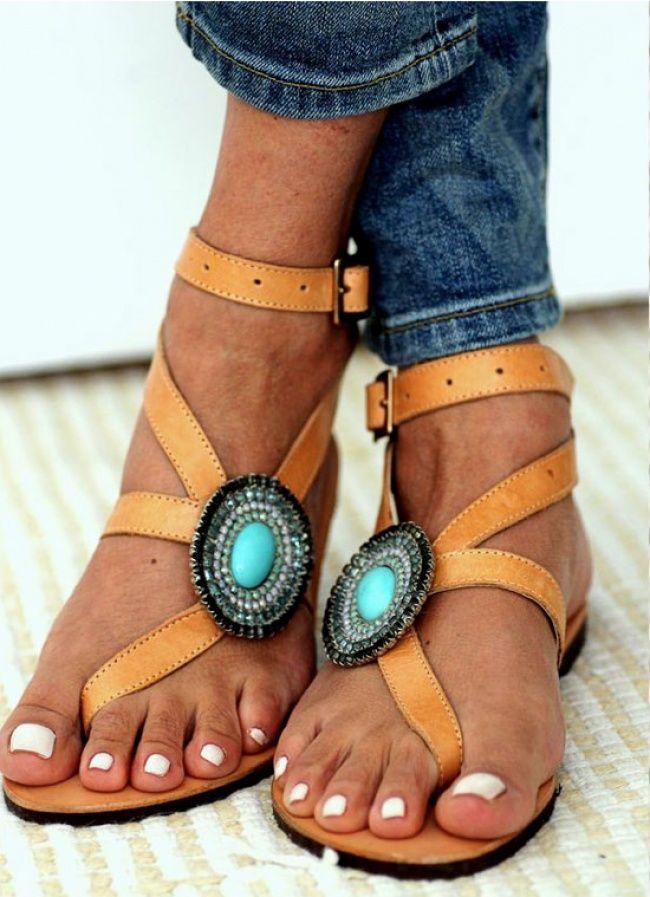 965cbb2fe59c Обувь в стиле бохо от дизайнера Элины Линардаки   Обувь   Pinterest ...