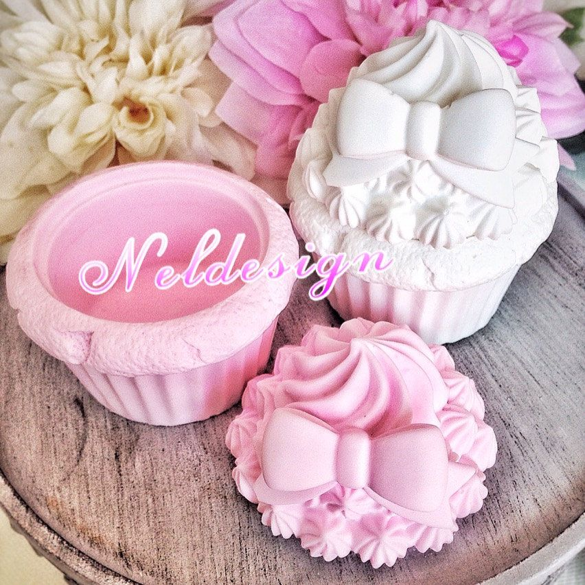 Decorative Cupcake Boxes Cupcake Box Mold For Soap And Scentedclaymoldfantacy On Etsy