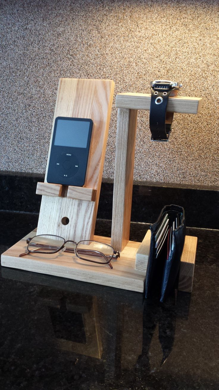 Pin By Steven On Wood Transfer Diy Phone Stand Cell