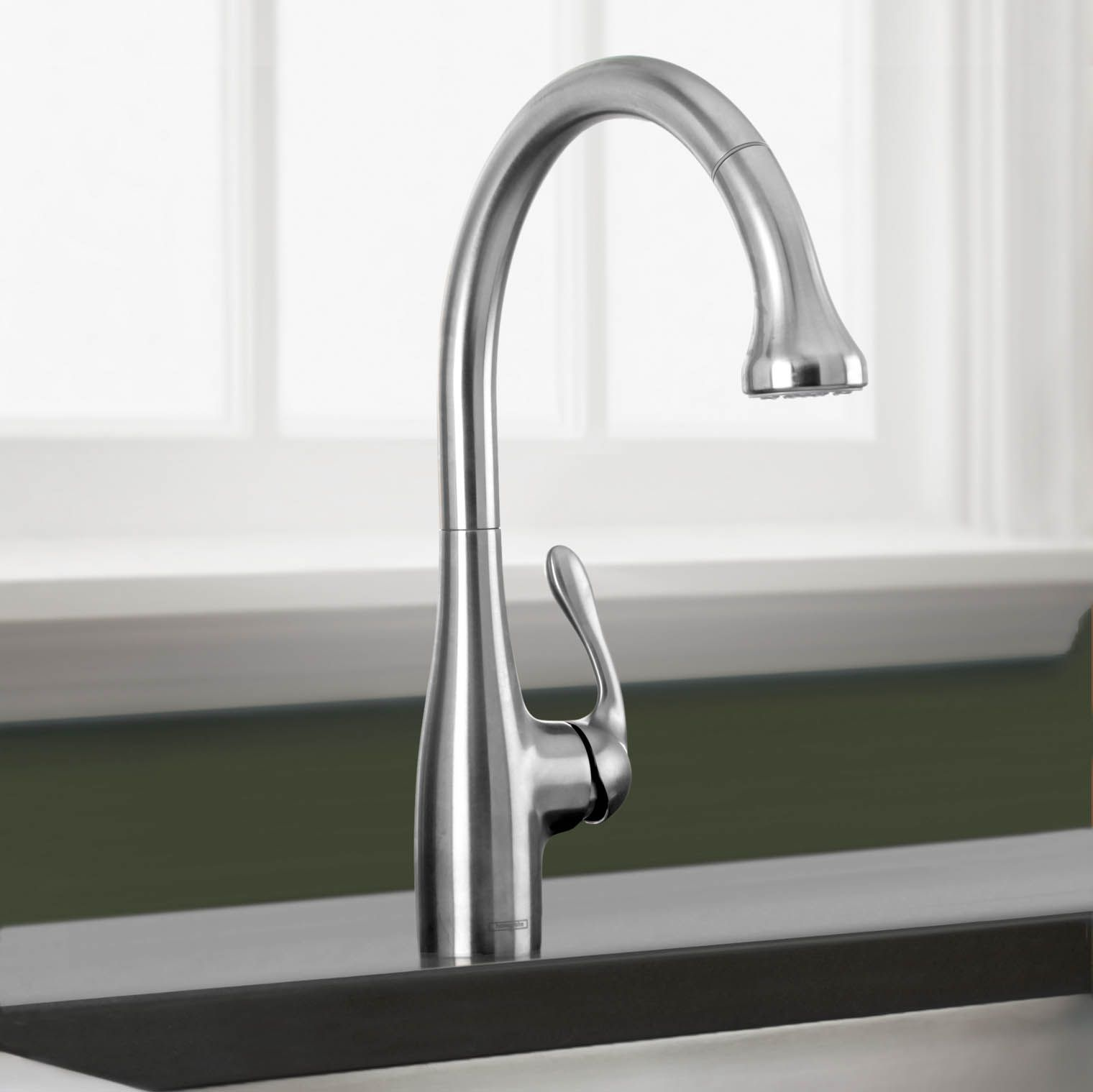 Allegro E Single Handle Pull Down Kitchen Faucet | Faucet, Kitchen ...