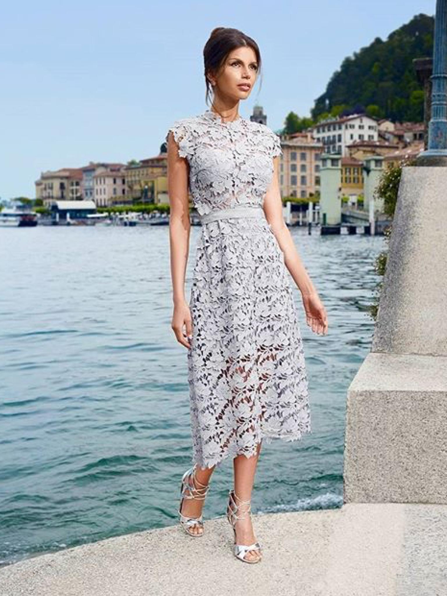 dolce vita #italien #sommer | brautmode, kleid spitze