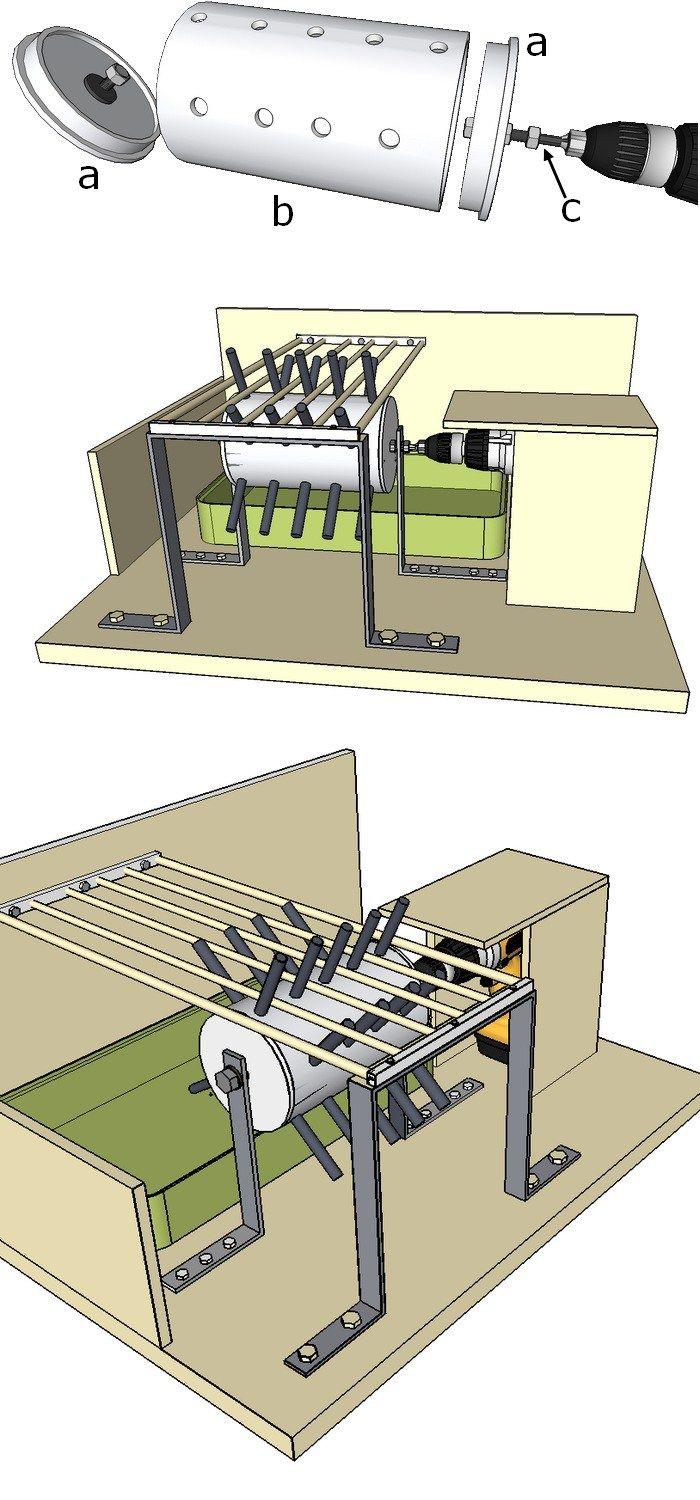plan d 39 une plumeuse faire soi m me chicken coop pinterest coops zinnias and permaculture. Black Bedroom Furniture Sets. Home Design Ideas