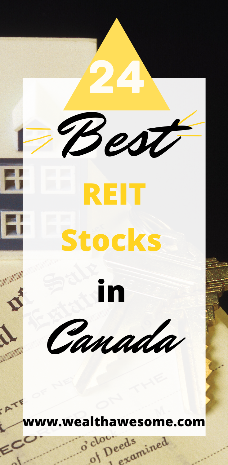 24 Best Canadian Reit Stocks 2020 In 2020 Investing Money Finance Investing Budgeting Money