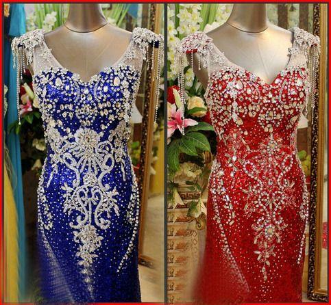 571b2c691829 YZ New Arrival Gorgeous Luxurious Swarovski Crystals Bridal Wedding Dress  asdfv from YZ Fashion Bridal