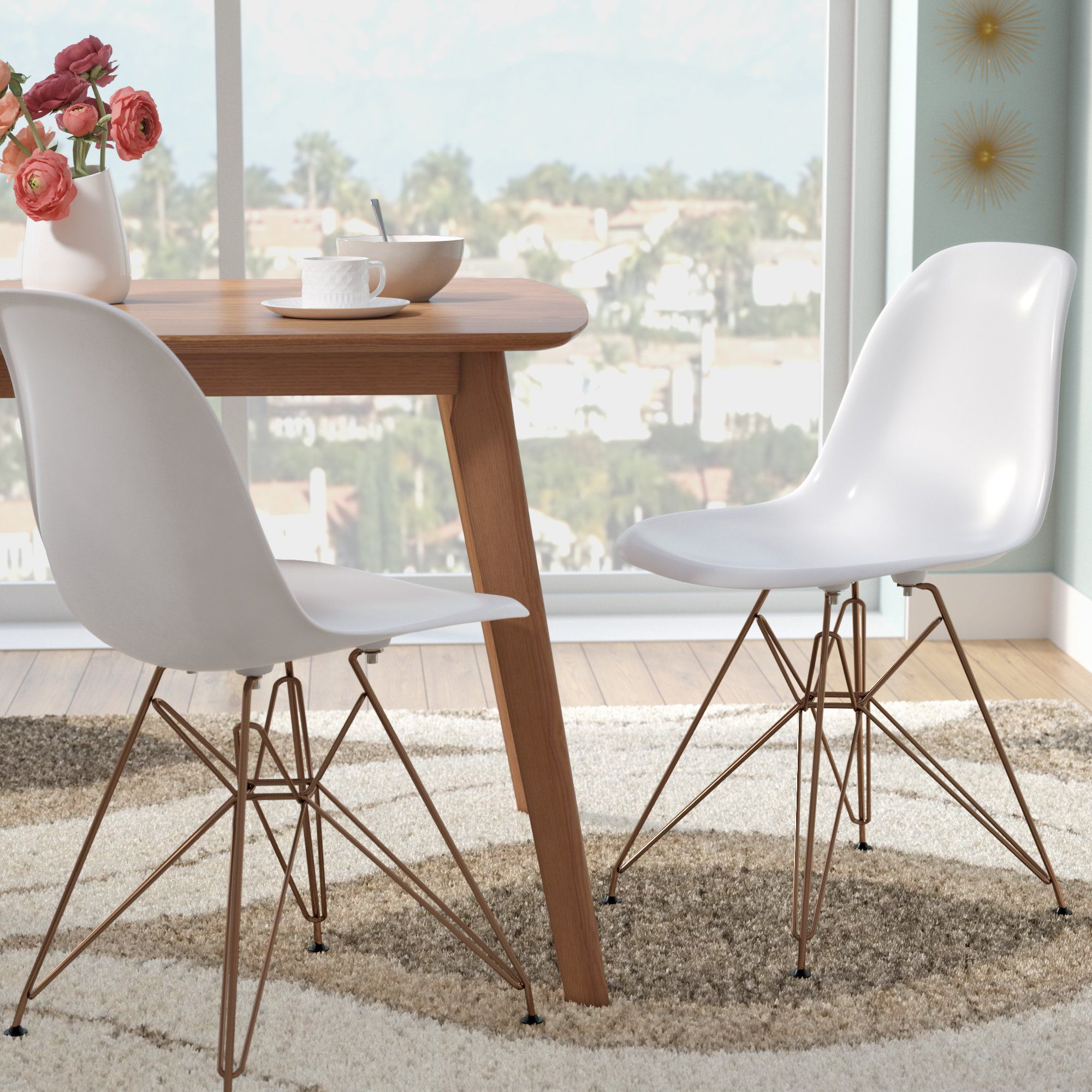Main Image Zoomed Solid Wood Dining Chairs Plastic