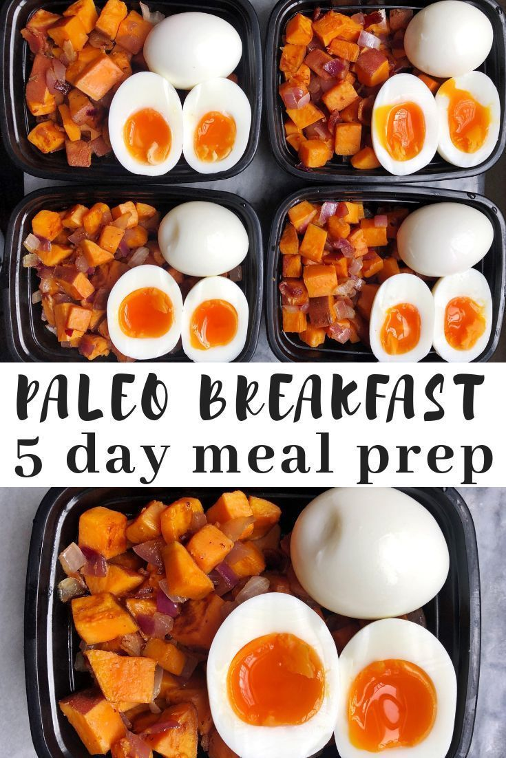 Paleo Breakfast Meal Prep  Mad About Food