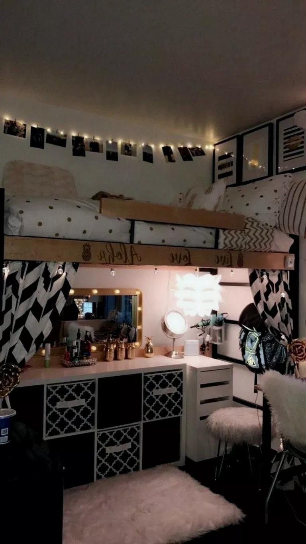 25+ Sweety Dorm Room Decorating Ideas #sweetydormroom ...