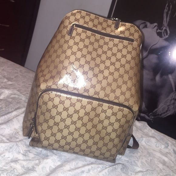 Gucci Book Bag 100% Authentic Gucci book bag ..purchased from the Gucci store Gucci Bags