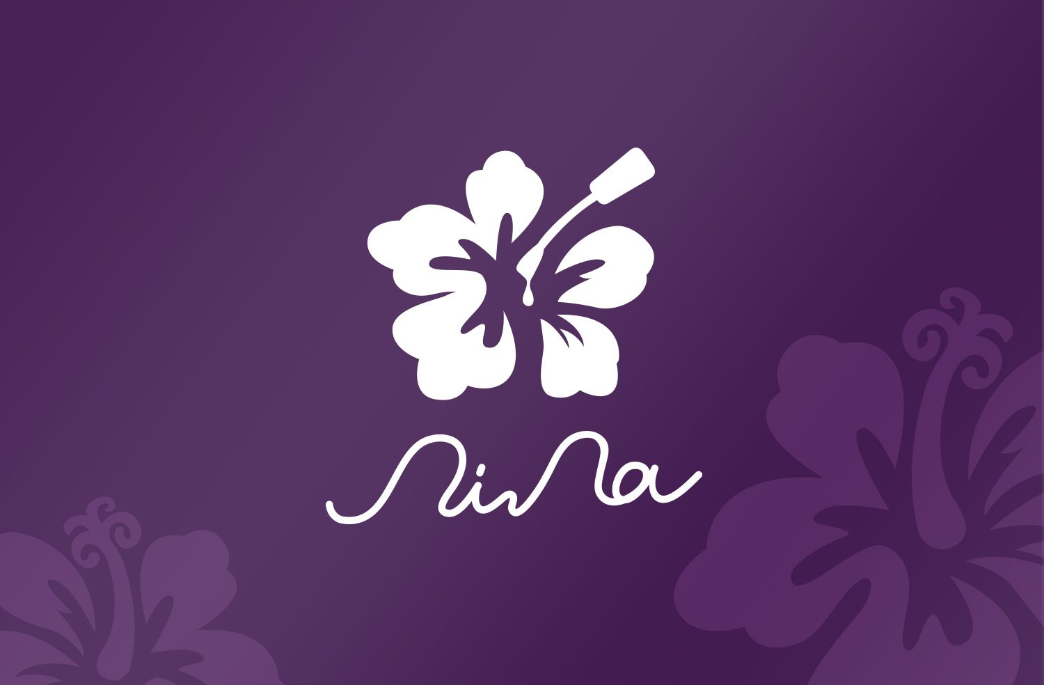 Branding Logo Design We Took Hibiscus Rosa Sinensis As The Brand S Main Image For Hibiscus Rosa Sinensis Represents Branding Design Logo Logo Design Nail Logo