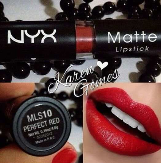 NYX 'perfect red'
