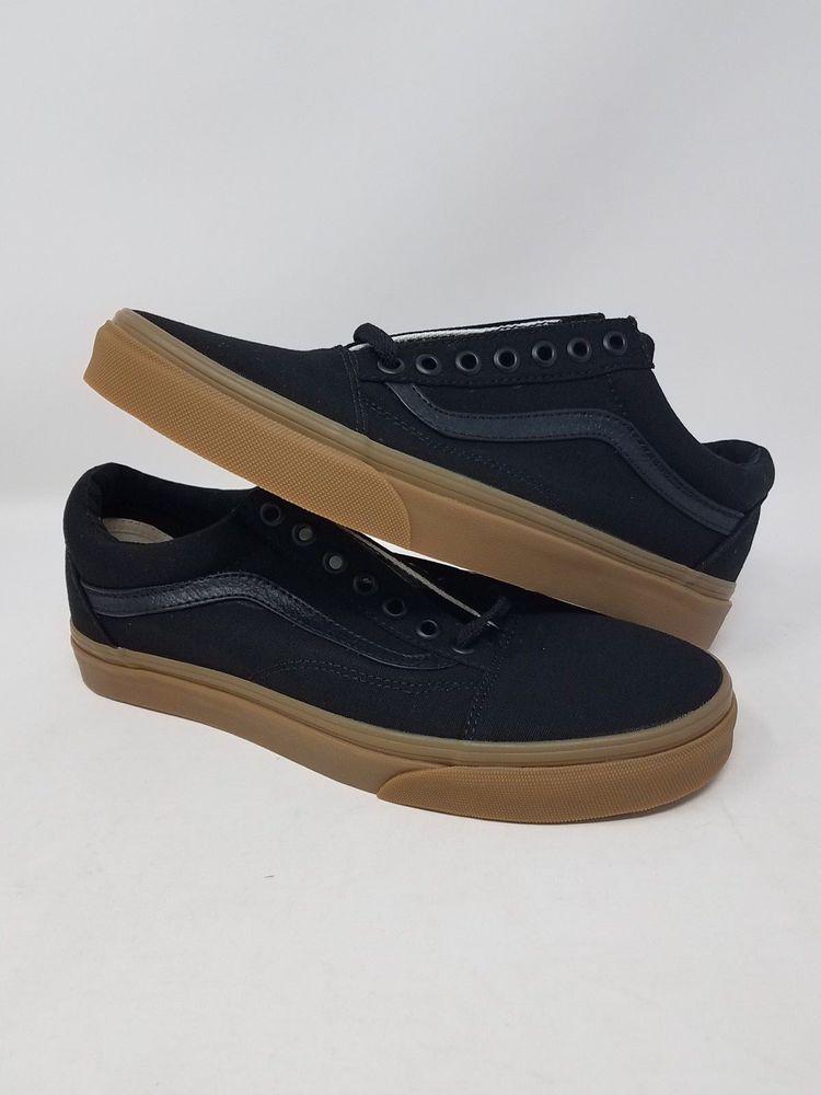VANS OLD SKOOL CANVAS BLACK LIGHT GUM MEN S SIZE 7.5 WOMEN S SIZE 9 NEW WOB   fashion  clothing  shoes  accessories  unisexclothingshoesaccs ... b51f2558e