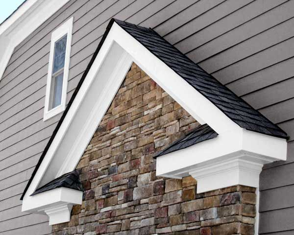 Truexterior Trim By Boral Made Mostly Of Fly Ash Captured From Coal Fired Power Plants This New Craftsman Exterior Craftsman Exterior Colors House Exterior