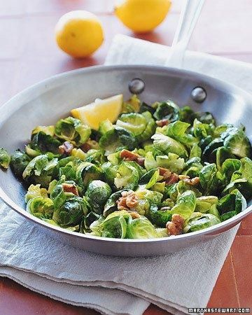 Brussels Sprouts with Toasted Walnuts Recipe