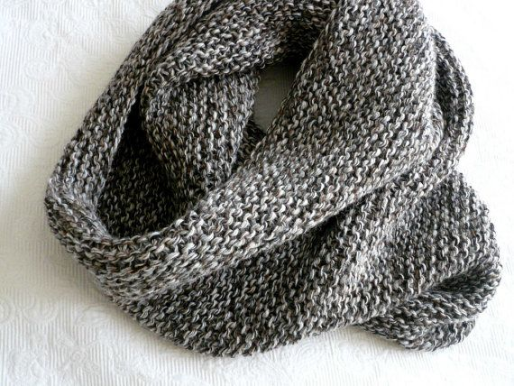 OVERSIZE cowl HANDknit infinity scarf