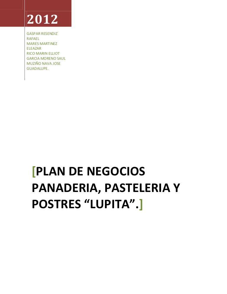 ejemplo de un plan de negocio 15941847 by raul martinez via