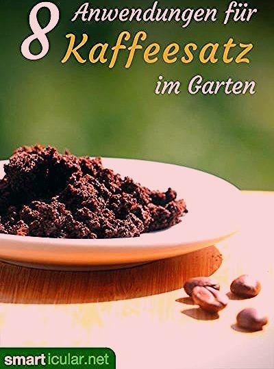 Photo of 8 Anwendungen für Kaffeesatz im Garten – bitte nicht wegwerfen!