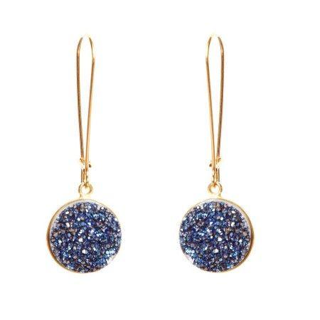 Druzy Jewelry, Druzy Earrings, Monica Mauro