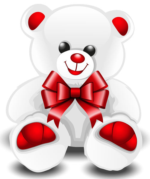 White Teddy Bear Png Clipart Picture Teddy Bear Images Valentines Day Teddy Bear White Teddy Bear