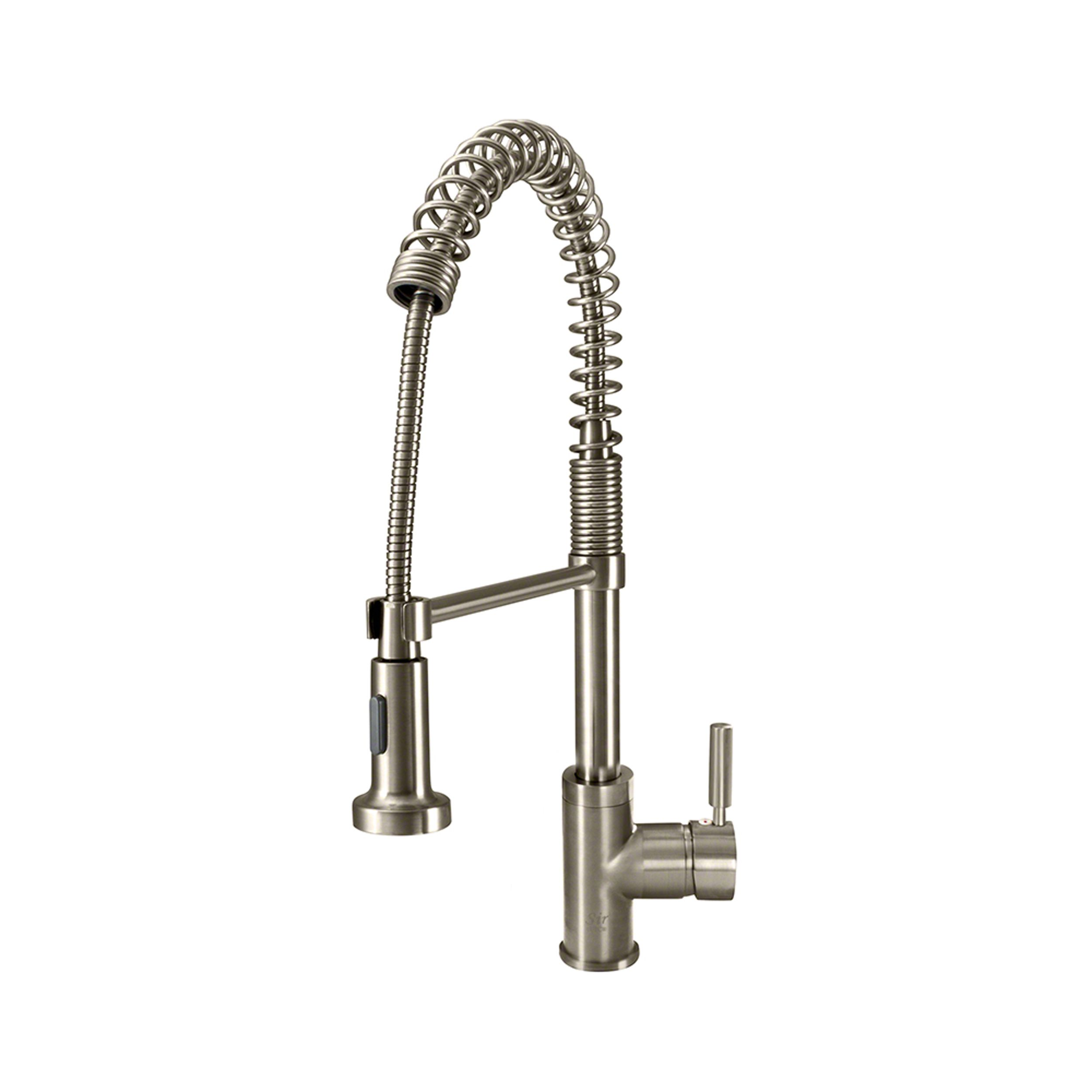 This restaurant-style kitchen faucet lets you switch from ...