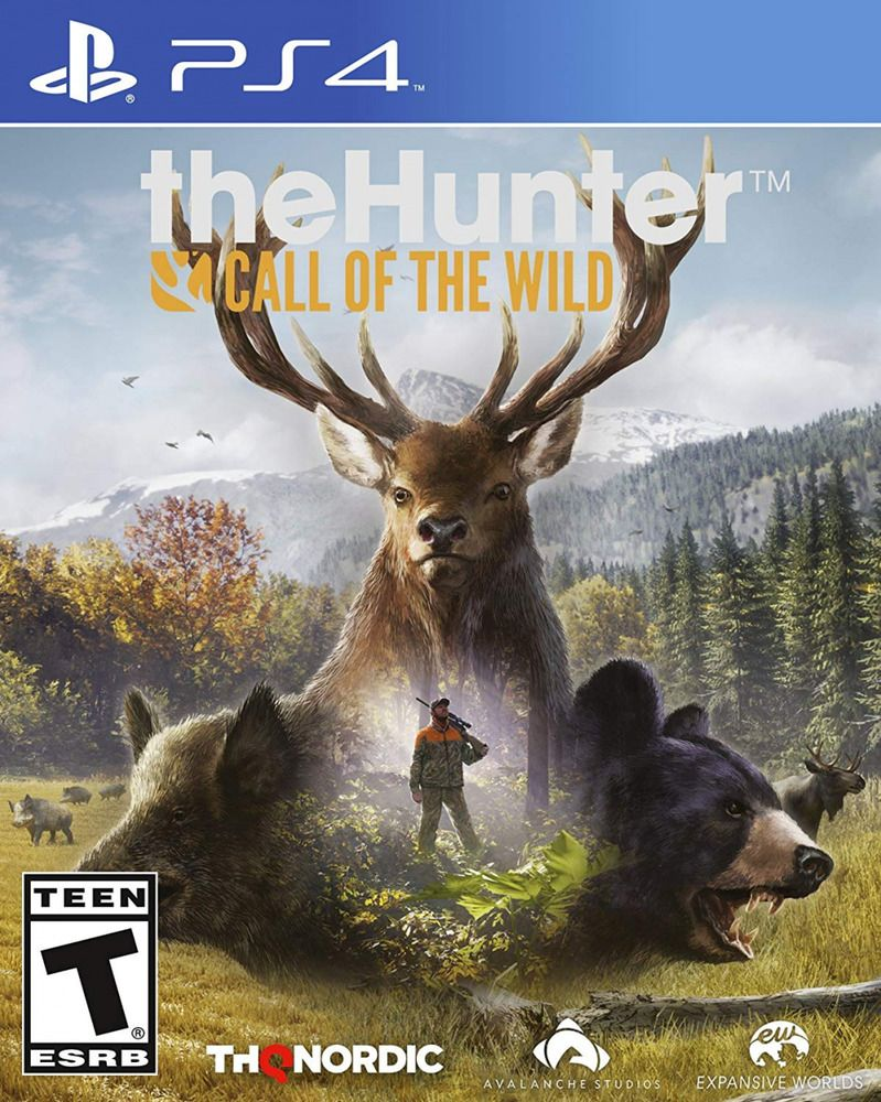 TheHunter Call Of The Wild, For PlayStation 4, Hunting