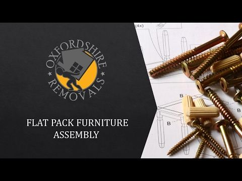 Flat Pack Furniture Assembly Oxford Oxfordshire - YouTube