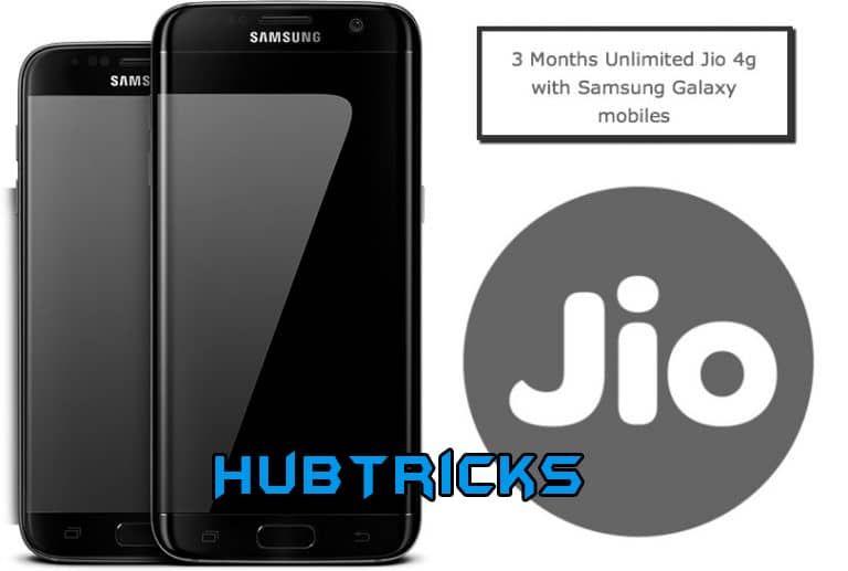 Get free 4g reliance jio sim for samsung galaxy hello