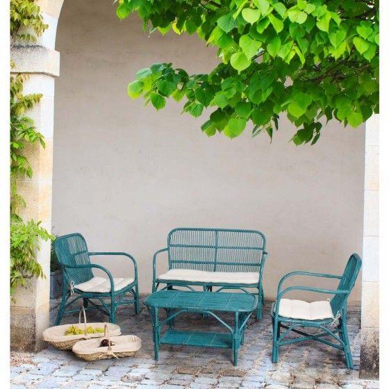 Salon de jardin design Rosita ATYLIA prix promo Salon de jardin ...