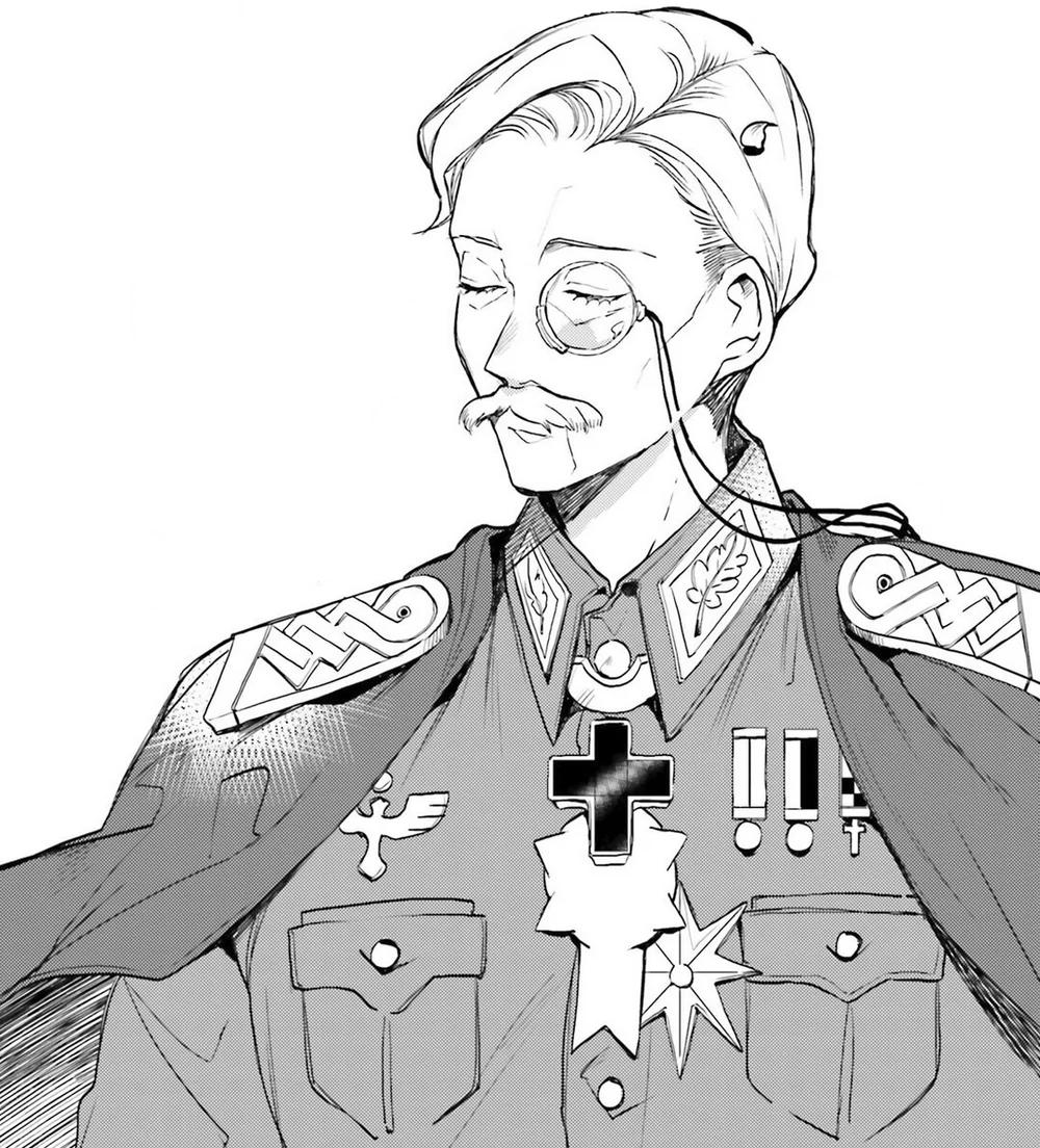 Hans von Zettour in 2020 Modern war, Military ranks