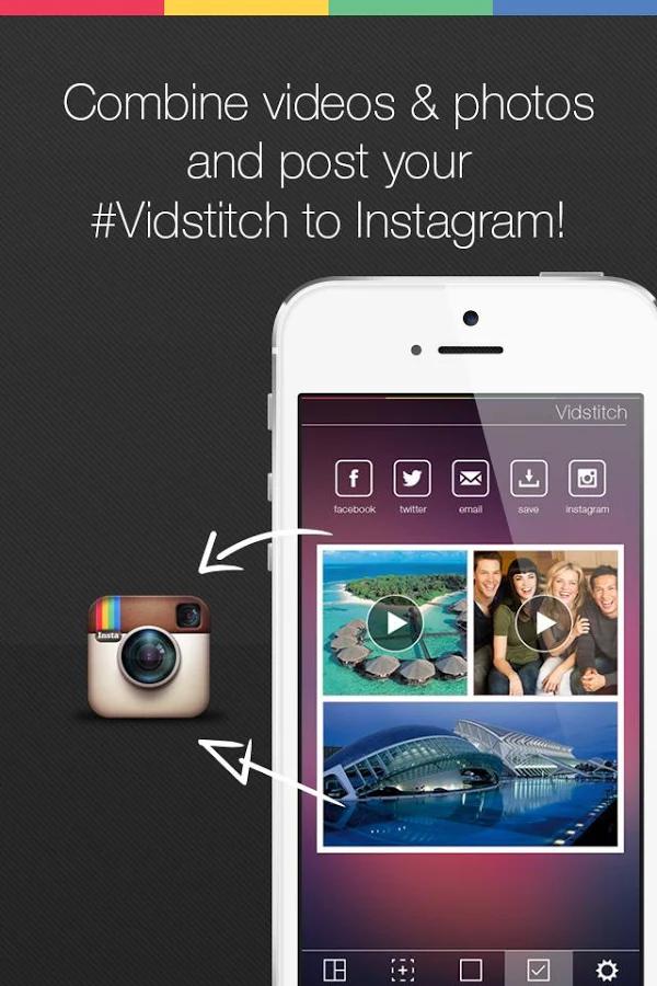 Vidstitch Pro Video Collage v1.0 apk Requirements 4.1