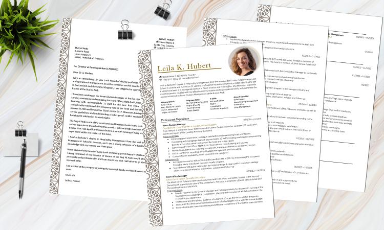 Musterbewerbung Auf Englisch Cv Und Cover Letter Dubai Hotel Bewerbung Muster Cv Lebenslauf Bewerbung Design