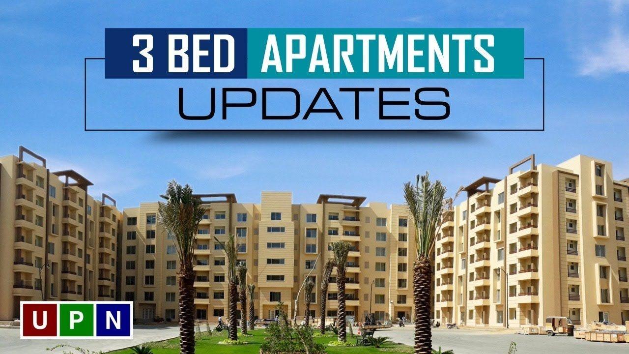 Bahria Town Karachi 3 Bedroom Apartments Reasonable Price