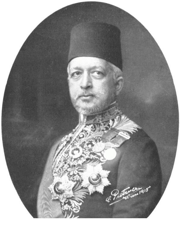 Said Halim Pasha The Grand Vizier of the Ottoman Empire from 1913 to 1917.