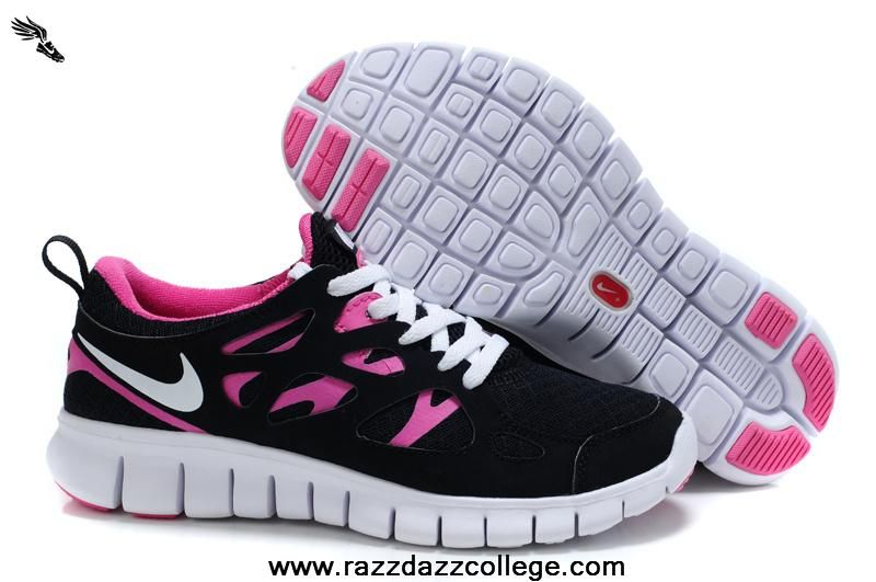 Nike Free Run 2 Shoe Women Pink Black