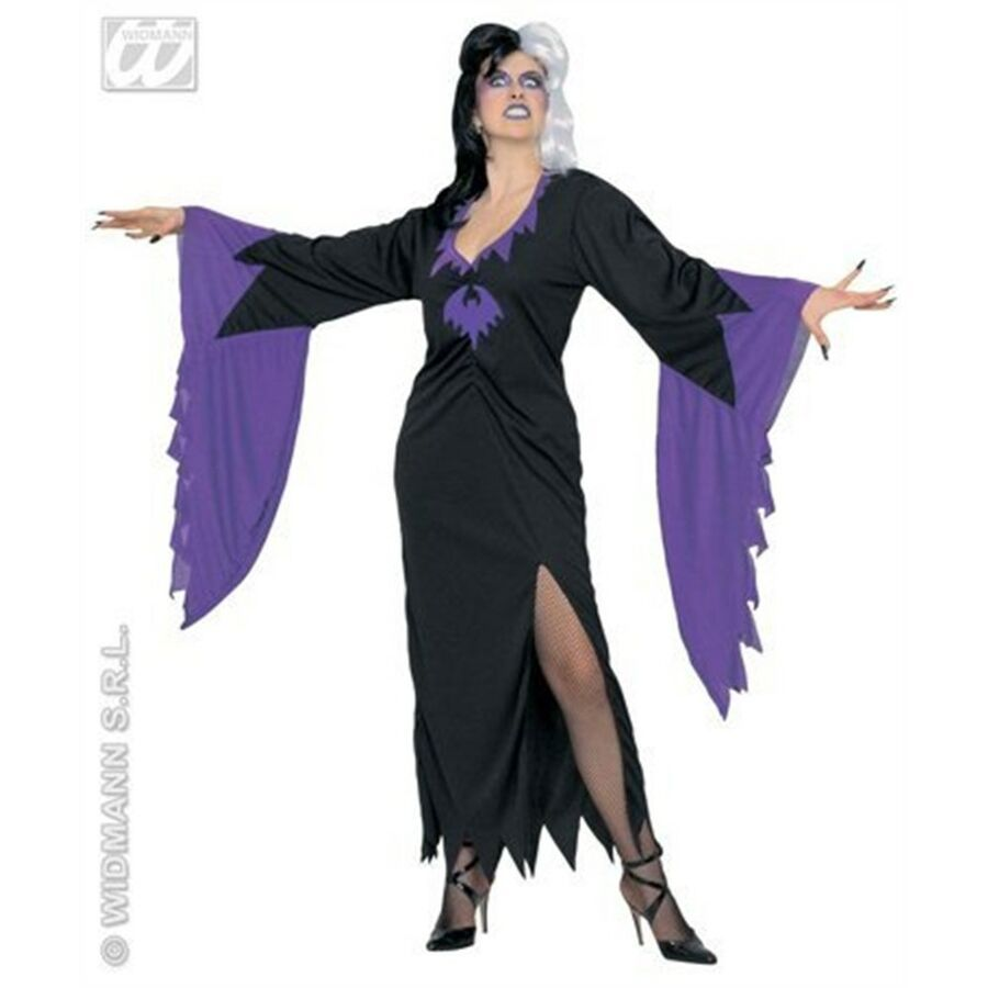 Doktersjas Halloween.Damen Mortisia Kleid Kost M Medium Uk 10 12 F R Halloween