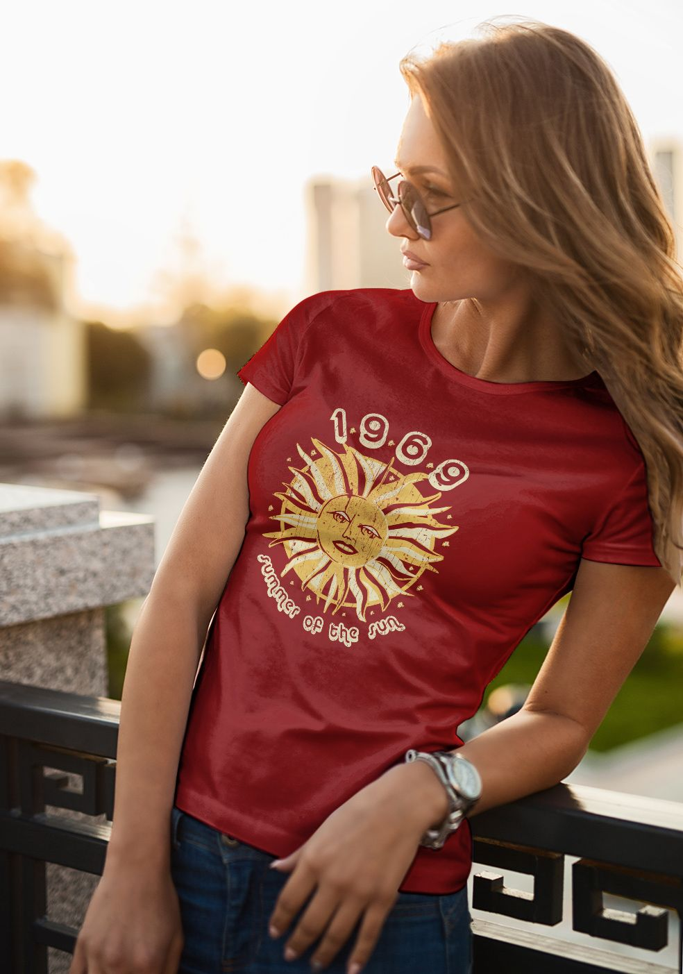 a15d1d7a4325 1969 summer of the sun graphic T Shirt Graphic Tees is your new tee will be  a great gift for him or her  sun  summer  summer holidays  summercolours ...