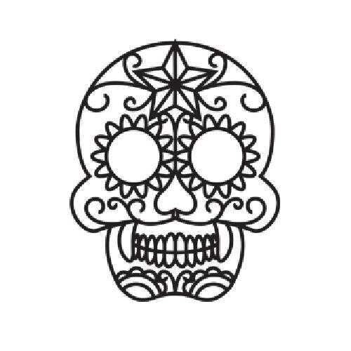 Skull - The 3Doodler   Crafty   Pinterest   3doodler, 3d pen and ...