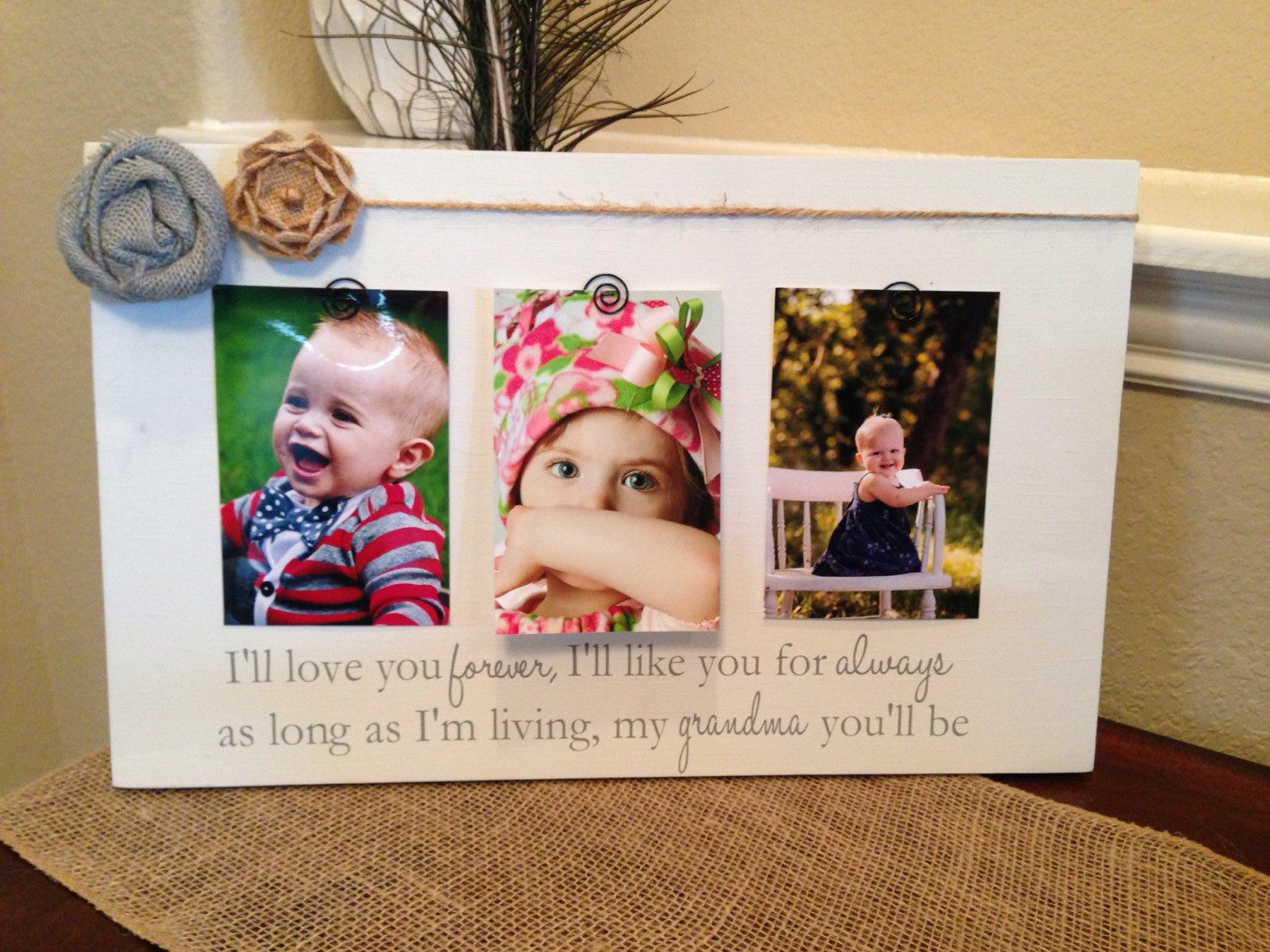 Grandma Mothers Day Gift Grandma Personalized Gift Ill Love You