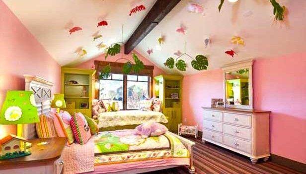 idee camera rosa per bambina. | Idee camera bambini | Children ...