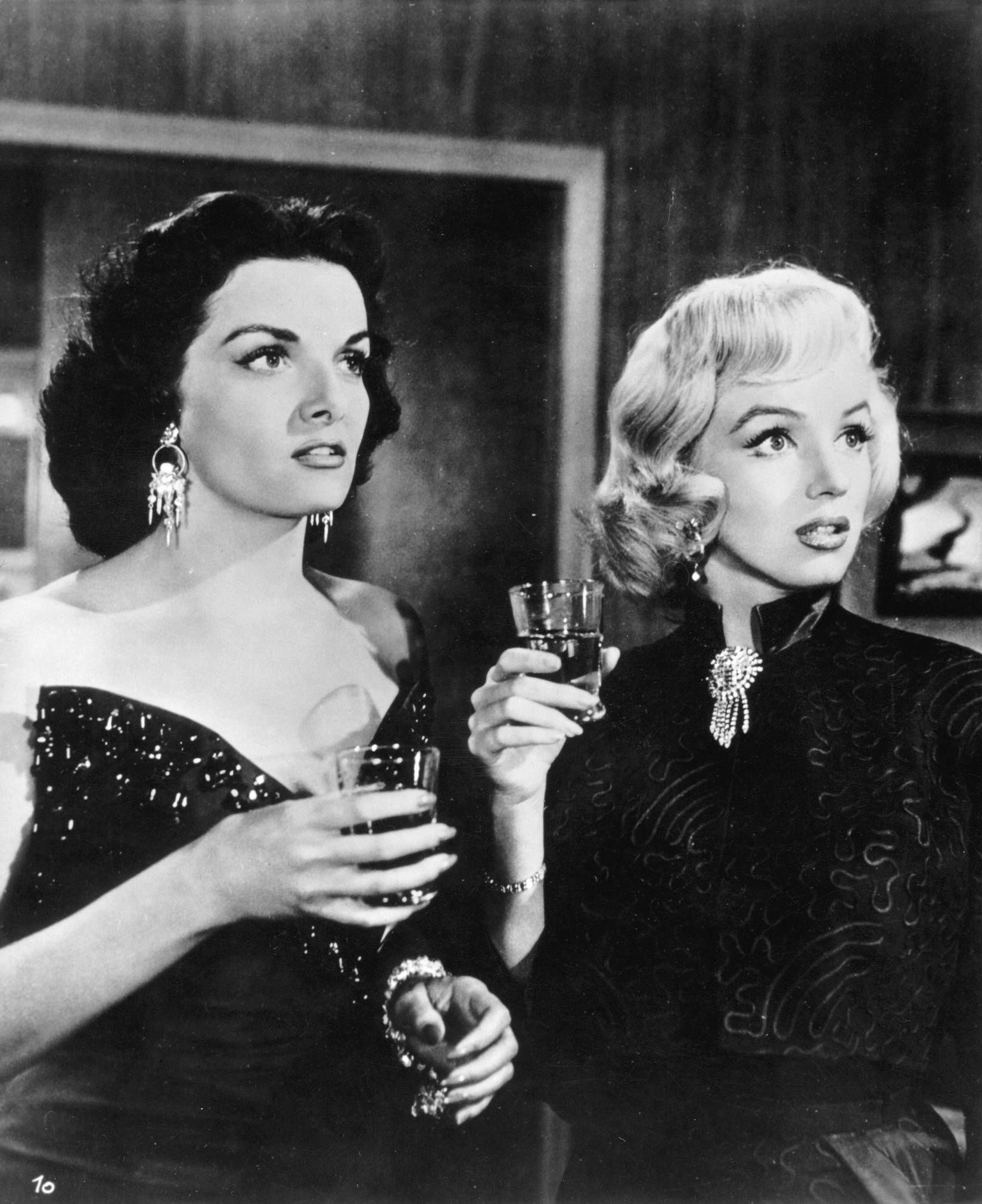 Jane Russell, Marilyn Monroe - Gentlemen Prefer Blondes (Howard Hawks, 1953) d60a8b54ecaa