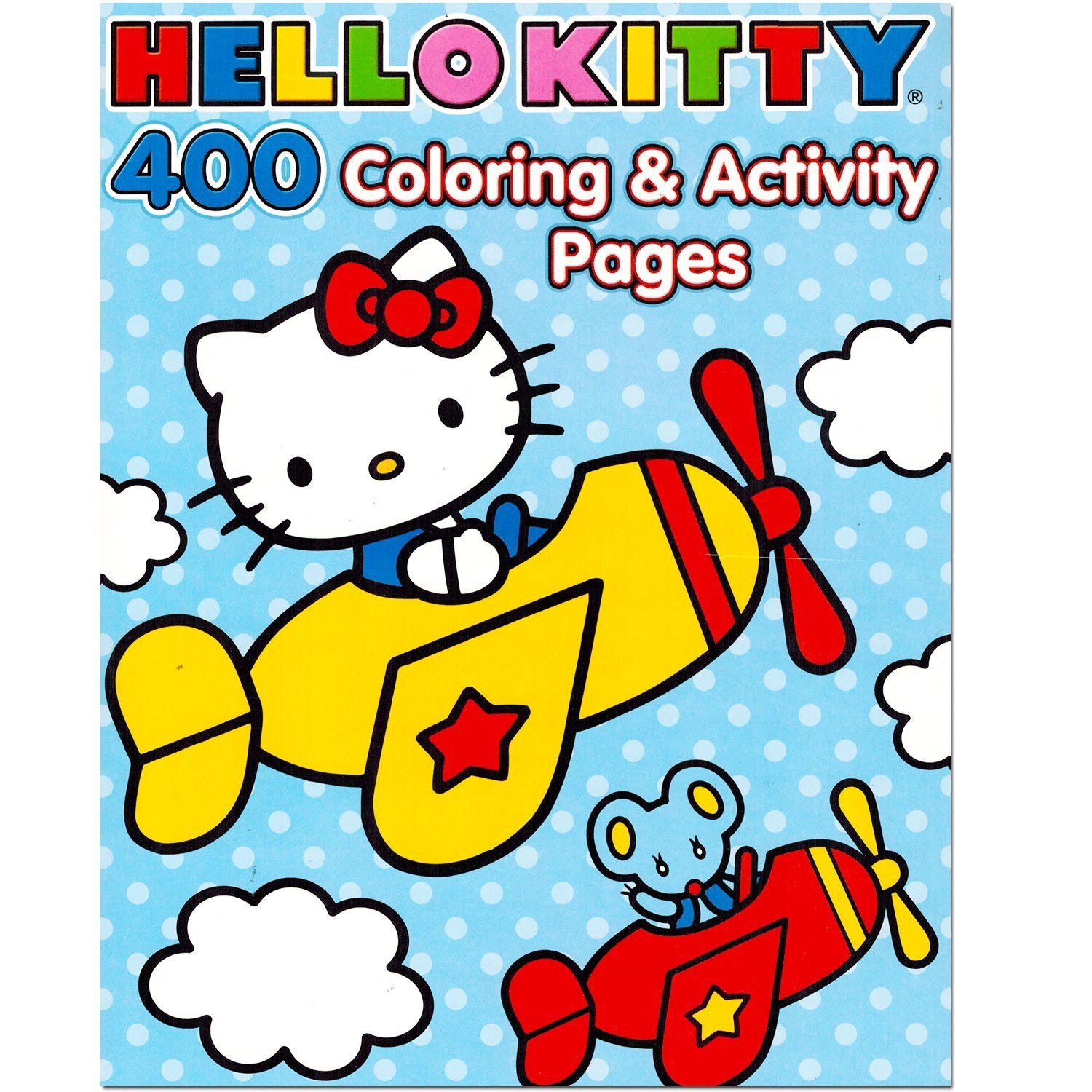 Robot Check Kitty Coloring Hello Kitty Coloring Cat Coloring Book