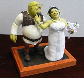 shrek and fiona wedding cake topper | Stuff to buy in 2019 ...