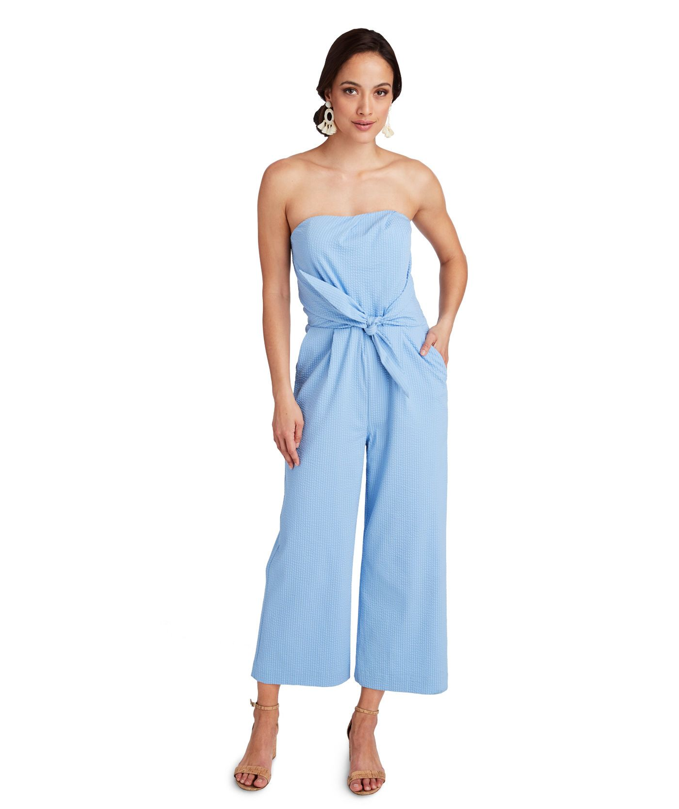 8b3bd0e17e Vineyard Vines Seersucker Jumpsuit in 2019