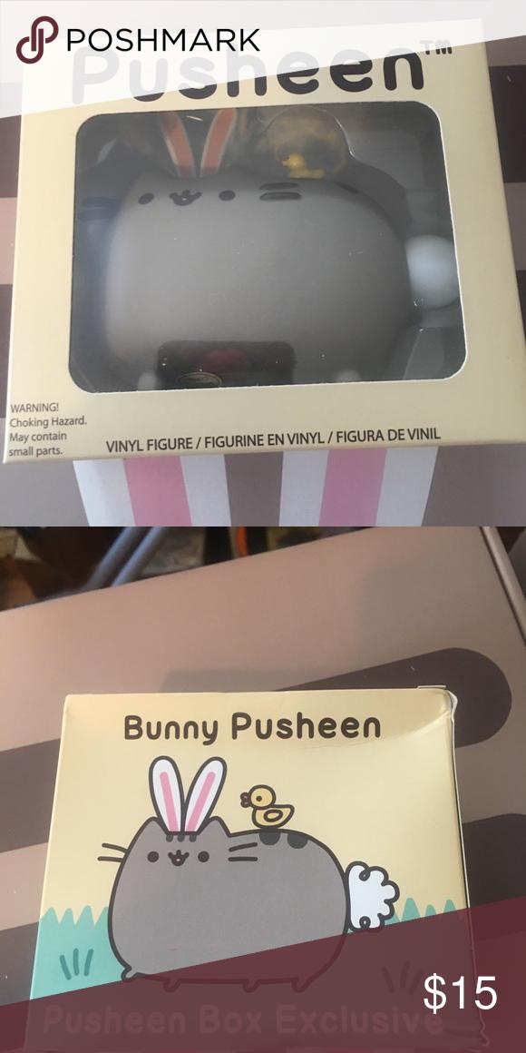 Bunny Pusheen Vinyl Figure Box Exclusive Vinyl Figures Vinyl Pusheen